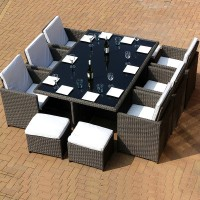 Wicker Outdoor Furniture Table and Chair Set
