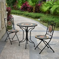European style Iron garden outdoor table and chairs