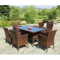 Outdoor Chairs and table combination with sunshade