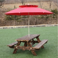Package of outdoor tables and chairs for Courtyard Park Barbecue