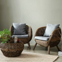Leisure rattan table and chairs combination