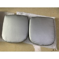 Replacement Cushions for Ball Chair in Red color and Fabric