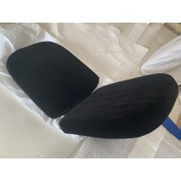 Replacement Cushions for Ball Chair in Black color and Real Leather