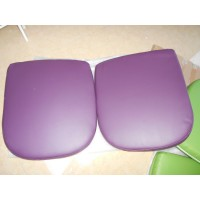 Replacement Cushions for Pod Egg Chair in Purple color and PU leather