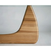 Replacement Leg Base Frame in Natural Ash Wood for Noguchi Table