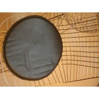 One-piece Replacement Cushions for Eiffel Bertoia Wire Side Chairs