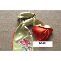 Embroidery scarves
