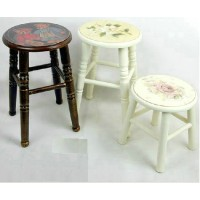 Dining stool of medium size