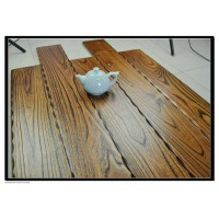 Solid wooden flooring teak