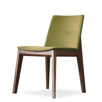 Nordic solid wood dining chair modern simple office chair