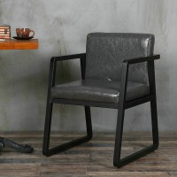 Vintage iron chair designed casual sofa chair