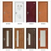 PVC wooden door,various styles