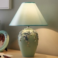Vase style decorative table lamp