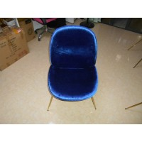 Beetle Gubi Dining chair with Wooden Inner Frame