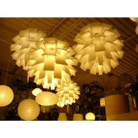 Artichoke Normann Copenhagen Norm Pendant Lamp (made of polythene)