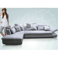 fabric sofa set of 3 seaters,single chair and chaise
