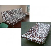 Folding fabric sofa bed