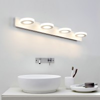 LED simple style mirror front lamp style 1