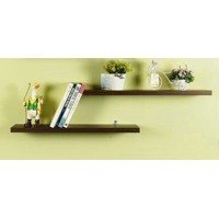 Flat wall shelf