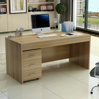 Simple Office Wood Staff Desk Table