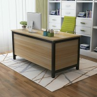 Simple office staff desk