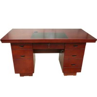 Simple Office Solid Wood Desk