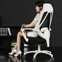 Computer chair office chair ergonomic swivel chair with lying function
