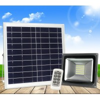 Solar lamp 100W highpower courtyard lamp light street lighting remoted controlled