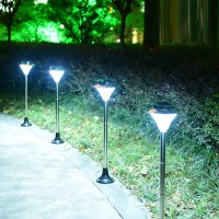 Solar floor lamp Outdoor courtyard lamp