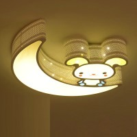 Carton ceiling lamp for children room style 3