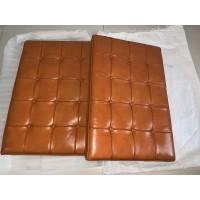 Vintage Mustard Barcelona Chair Cushions