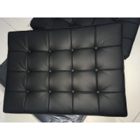 Barcelona Chair Replacement Cushions and Straps in Full Nappa Leather