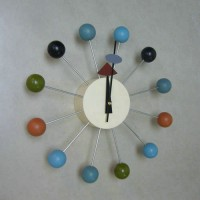 Nelson Ball Clock Colorful