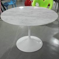 Tulip Marble Table of 110cm in diameter
