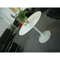Tulip Table of 70cm,made in fiber glass