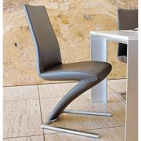 Zig Zag Mermaid Leather Chair