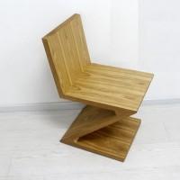 Zig Zag Wooden Chair