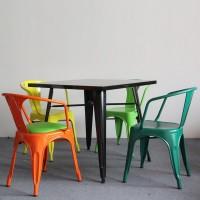 Tolix Style Bar Desk