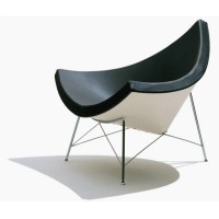 Coconut chair in PU leather