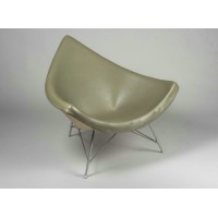 Coconut chair in Real calf leather