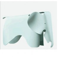 Eames Elephant Lounge Chair in Green