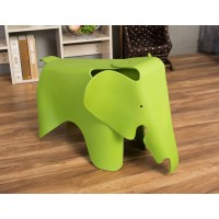 Eames Elephant Lounge Chair in light green