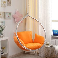Bubble chair in pod egg style with stand and no chain