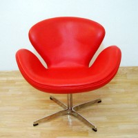 Swan Chair in PU leather
